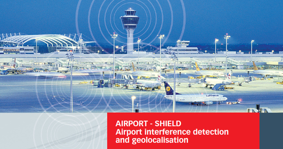AIRPORT-SHIELD Airport Interference detetion and geolocalisation