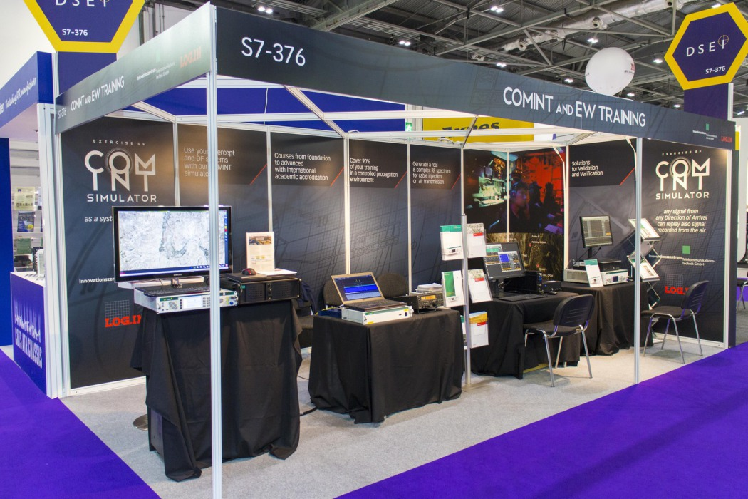 EW Training and COMINT Simulator at DSEI 2015